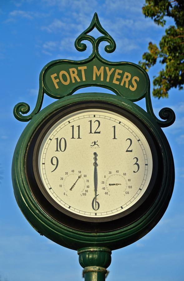 Ft Myers Clock